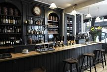 Commercial interiors: Pubs and Bars / by Fiona Jane Interiors