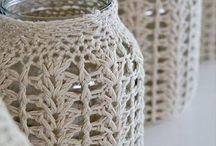 cubre vasos crochet