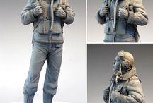 Sculptures,Clay,Sculpey