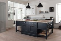 Timeless - traditional kitchens / The more traditional kitchen is making a comeback and we have introduced a range which uses traditional craftsmanship & colours without being too fussy or old fashioned.