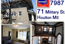 SOLD | 71 Military Street Houlton Maine 04730 / Grand Home In Houlton Maine Used To Be The Ricker Library. Take The Tour, Watch The Video, See & Hear About The Quick Occupancy Aroostook County Home. 207.532.6573 info@mooersrealty.com