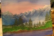 My Paintings / by Angela Hood