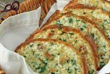 Sajtos fokhagymás kenyér