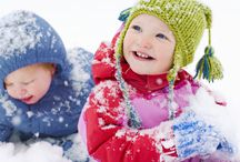 Winter Activity Ideas / Outside or Inside - Here are some fun ideas to get the kids active during the winter