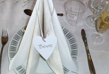 borddekking bryllup