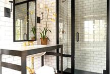 Bold bathrooms!