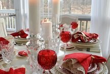 Christmas and Easter Tablescape and Centerpieces