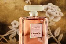 """Perfume / """"A woman who doesn't wear perfume has no future.""""  VIP, Untiteled, Coco Mademoiselle are the best, EVER"""