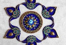 DIY and crafts / rangoli
