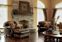 Dream home -Tuscan style / Tuscan inspired rooms and decos ...on a grand scale...maybe could use on a smaller scale, but would love to live it in a bigger scale!