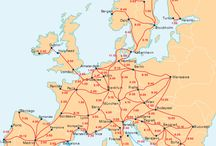 Interrail Europe / These are places that I'd like to see! Would you like to too? Do you wan't adventure with challenges? Why don't you contact me and we can team up for an epic adventure!