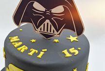 darth vader cakes