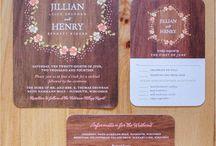 Invitation card, stationery