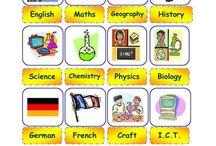 english school subjects