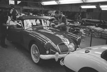 Abingdon-on-Thames / Pictures of the MG production location @ Abingdon