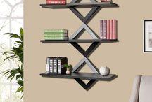 Wall bookshelf | Wall Book shelf Designs / wall bookshelf, wall bookshelf designs, wall bookshelf for home, luxury wall bookshelf,