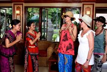 """Traditional Welcome @ Ideal Beach Resort / Our staff will greet you in a typical Indian custom with the scent of real live rosemary, fresh garlands and juice on your arrival"""" which is just the start of what will go down your memory lane as one of the best holidaying experiences."""