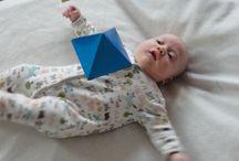 Giochi neonato fai da te