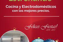 COMIENZA EL 2015 ESTRENANDO / Cocina y Electrodomésticos