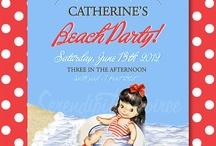 Beach Party / by Catherine Joy - Serendipity Soiree