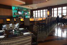 Piano bar del Lift Restaurant a Vancouver -CANADA- / Piano bar del Lift Restaurant a Vancouver -CANADA-, realizzato con Onice Nuvolato Extra retroilluminato fornito dalla MARBLE & GRANITE SERVICE SRL.