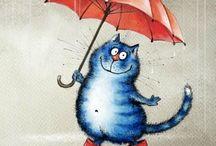 Кошкины рисунки