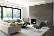 Fireplaces / Several design types of fireplaces which instantly creates a focal point and adds warmth to any space.