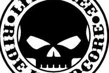 Harley  loga