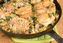 Cooking: Healthy One-Pot Wonders / Yep, it's true - cooking can be both easy and healthy. These recipes actually only involve a single pot or pan for super quick clean-up! University of Kentucky Health & Wellness holds cooking classes twice a year. 5 Ingredients or Less was our Spring 2012 cooking class organized by our UK Wellness registered dietitians and these are the recipes we made. / by UK Wellness