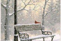 Vinter og julemotiv