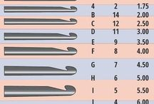 Crochet Hook Sizes
