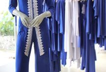 Goddess On The Go! / Elegant Royal blue pair with pure white combination