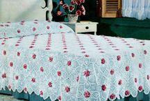 Crochet Bedspreads / Crocheted bedspreads