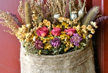 dried flower bag