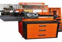 Máy tiện láng phanh đĩa / Tiện láng& mài phanh đĩa, trống phanh và bánh đà/Rôto kết hợp