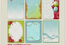 Products : Journal cards