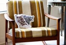 retro midcentury chair