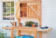 My shed / Potting shed, tool organization