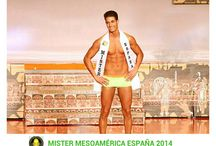MISTER SPAIN 2014 / ALEXANDRO ESPINAR MISTER MESOAMERICA ESPAÑA 2014, PRIMER FINALISTA DE MISTER MESOAMERICA INTERNATIONAL 2014, REALIZADO EN EL SALVADOR