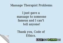 Massage 'n Beauty Humor / humor: massage; spa; salon / by Dottie Smith