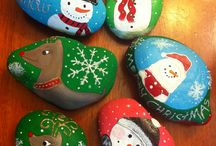 painted rocks / by Debby Kain
