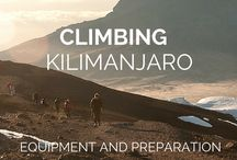 4. Climb Mount Kilimanjaro / I want to climb all seven summits one day but Mount Kilimanjaro is top of the list.