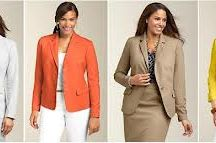 Mood Board - Business Casual Clothing for Women / Ideas for Business Casual Clothing for Women for headshots and business portaits