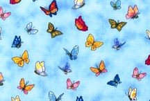 Ewww! Creepy Crawlers! / Bugs and Butterfly Fabric