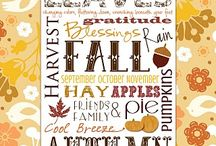 I Love Fall / by Debbie Petras