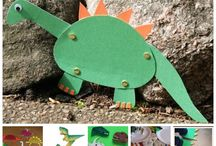 manualidades de dinosaurios para niños