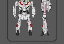mecha, weapon, concept