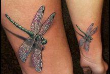 Libellen-Tätowierungen