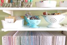 Organize My Life (or at least my craft room) / Home organization