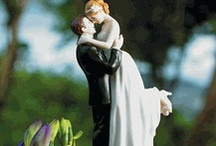 Unique Wedding Cake Toppers / Wedding toppers can be classic, unique, and funny. / by Elizabeth Ray